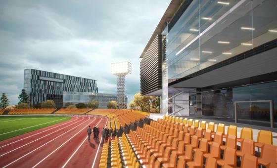 Спортивно-оздоровительная зона кампуса НИТУ «МИСиС»